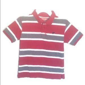 Wrangler Striped Polo